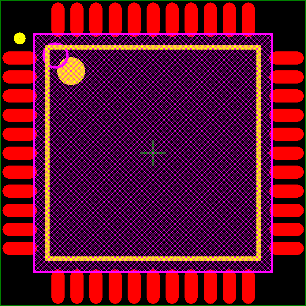 Xilinx XC9572XL-7VQ44I CPLD 1.6K Gates 72 Macro Cells 3.3V XC9572XL Industrial